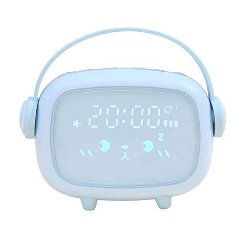 YEYOUCAI Réveil XR-MM-C2002 LED lumière Enfants Chevet Multifonctionnel réveil numérique Intelligent