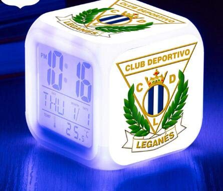 Yyoutop Horloge numérique réveil numérique Horloge lumière LED réveil Club