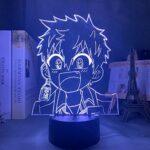 Lampe de nuit 3D Anime Illusion Lampe Manga Toilette Liée Hanako Kun Minamoto Kou LED Veilleuse pour Chambre Décor Veilleuse Colorée Anime 3D Lampe Minamoto Kou ZMSY