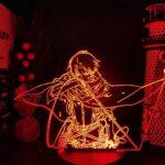 HWHZ Attaque sur la Lampe de Table 3D géante LED Cadeau lumière veilleuse colorée en Trois Dimensions visuelle