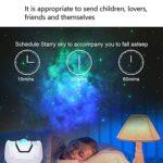 ZJQ-Projecteur Étoile À LED, avec Télécommande Et Batterie Construction, Cadeau Lampe D'ambiance pour Enfants Adulte Jeux Maison Décor (Blanc, 14.4 * 14.4 * 9.9Cm)