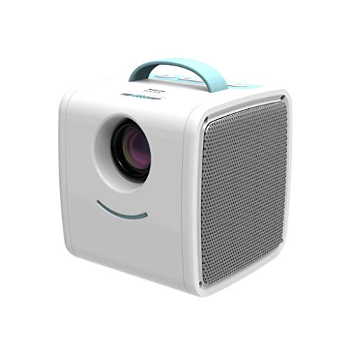 Mini Projecteur 1080P – Projecteur Portable Movie 20~80 » affichage pris en charge, Maison et extérieur Projecteur Compatible avec USB, SD, HDMI, AV