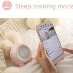 HYK Réveil numérique pour enfants, fonction snooze, détection de température, pour les tout-petits, garçons et filles, les étudiants, pour se réveiller à la chambre, au chevet et à piles