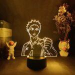 Veilleuse 3D – Décoration de chambre – Éclairage de nuit – Décoration de chambre d'enfant – Cadeau d'anniversaire – LED 3D