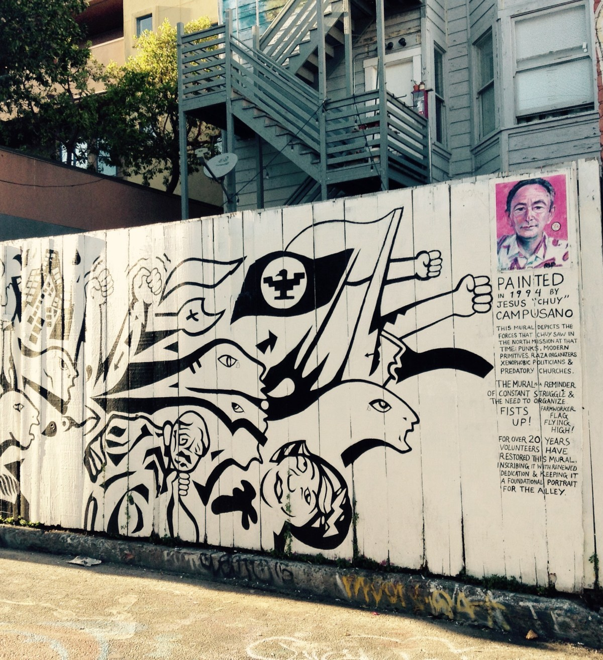 American street art is at its most liberal state at San Francisco