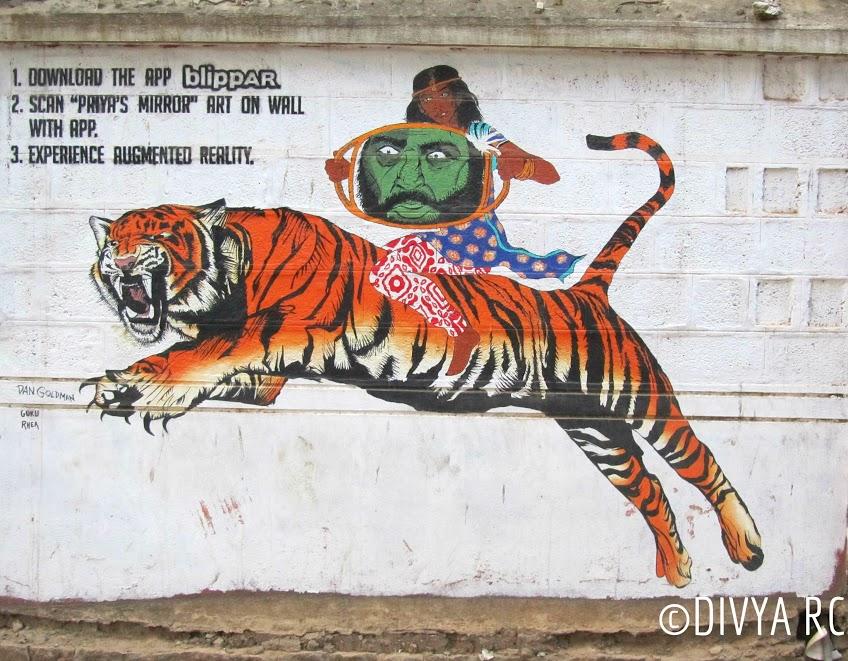 An artsy poplar place, Church Street has the best of Bengaluru street art