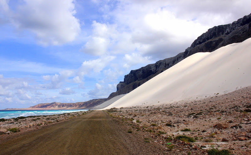 The massive dunes of Arhar of Socotra