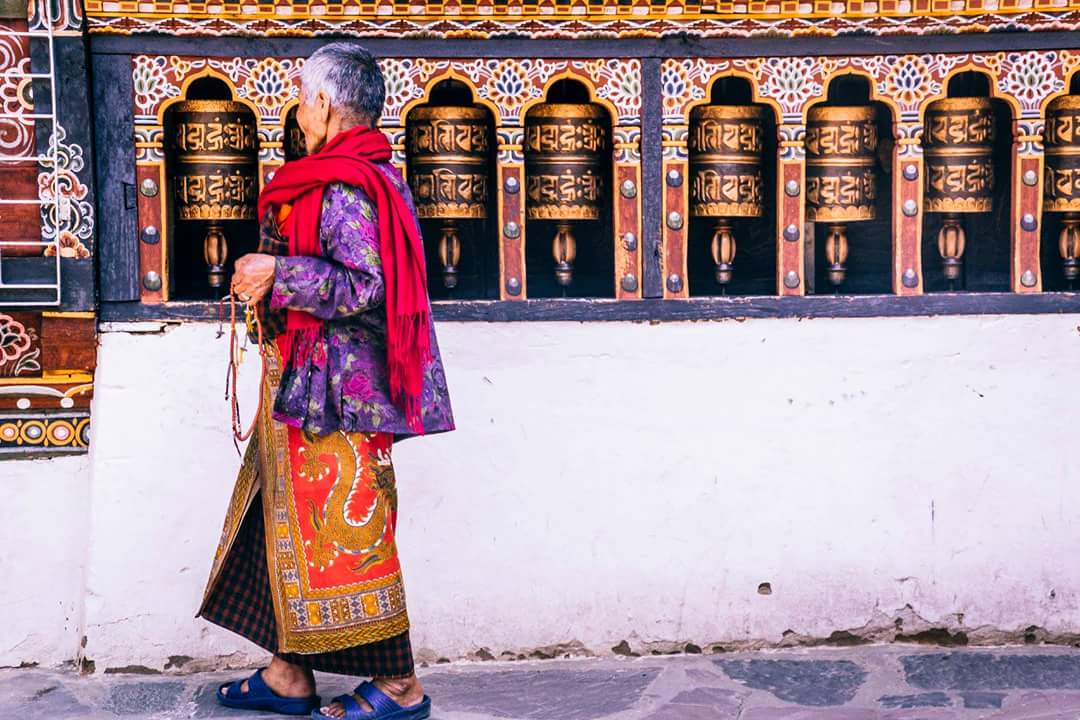 A beautiful travel photo of Bhutan