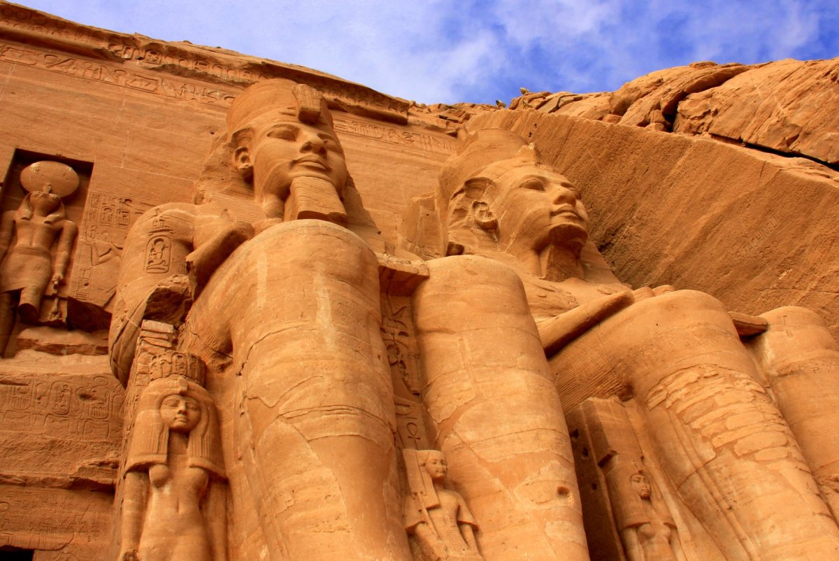 The mind blowing Abu Simbel is a day trip from Aswan