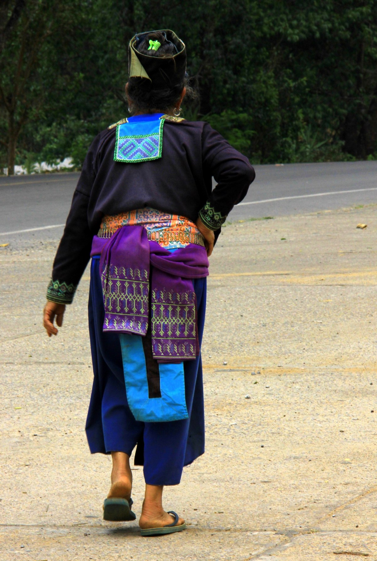 Thai hill tribes depend mostly on tourism