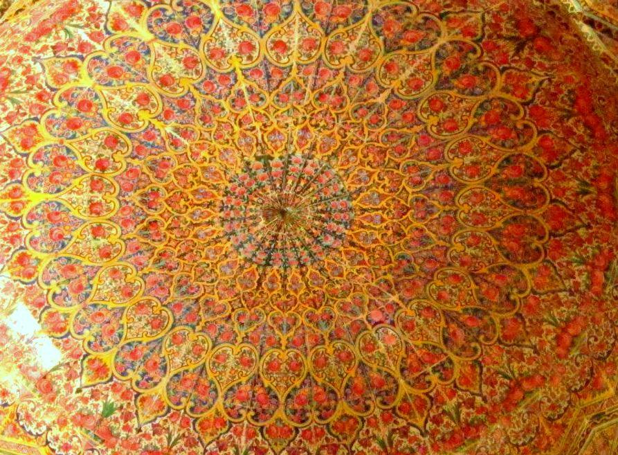 Nasir al-Molk Mosque ceiling