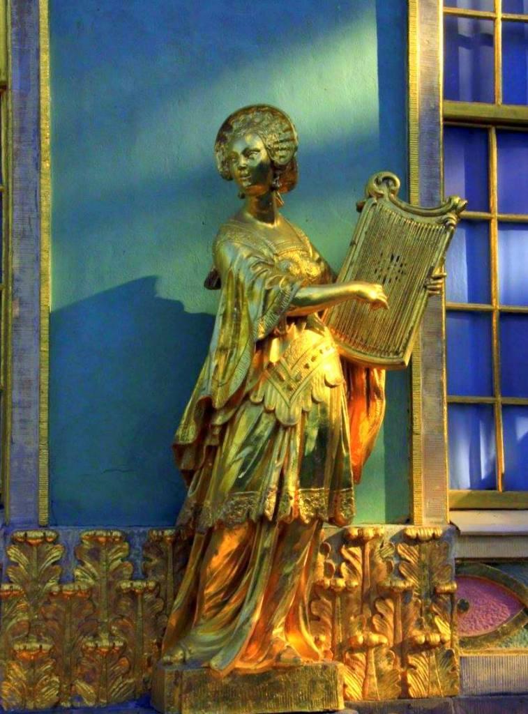 The Oriental statues near Sanssouci Palace