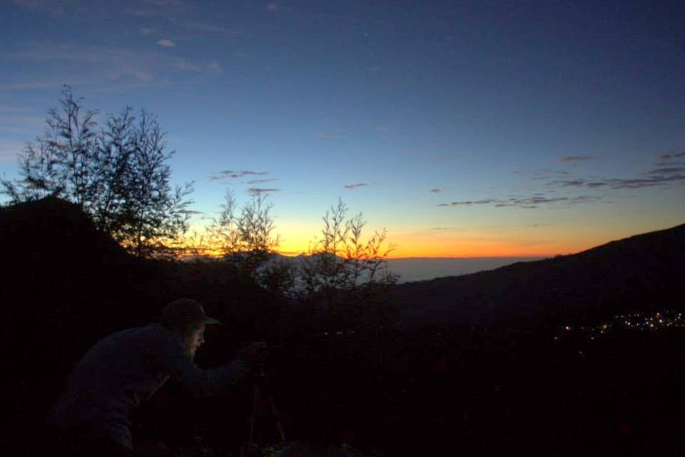 Flocking to see the sunrise at Mount Bromo