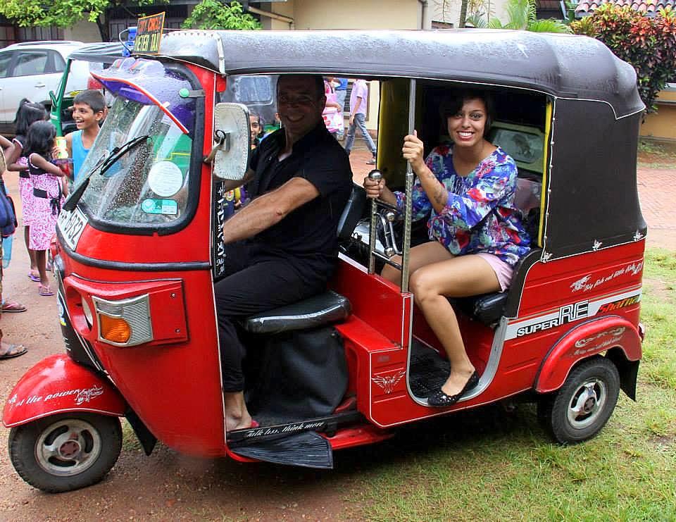 the iconic colombo tuktuk