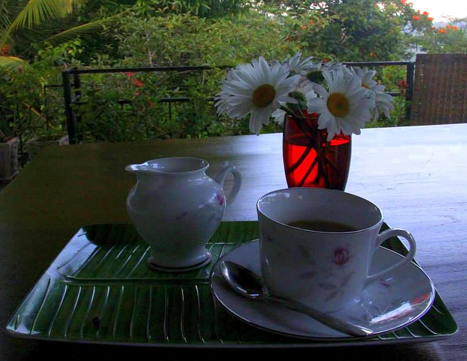 kandy cafe where I planned for dambana