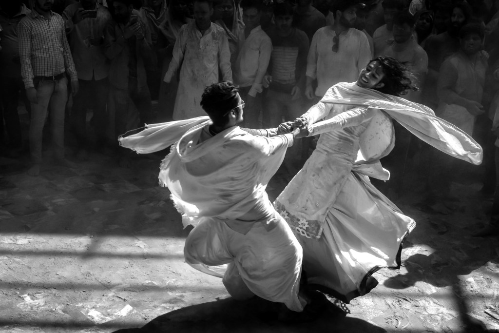 dancing is essential at Indian festivals