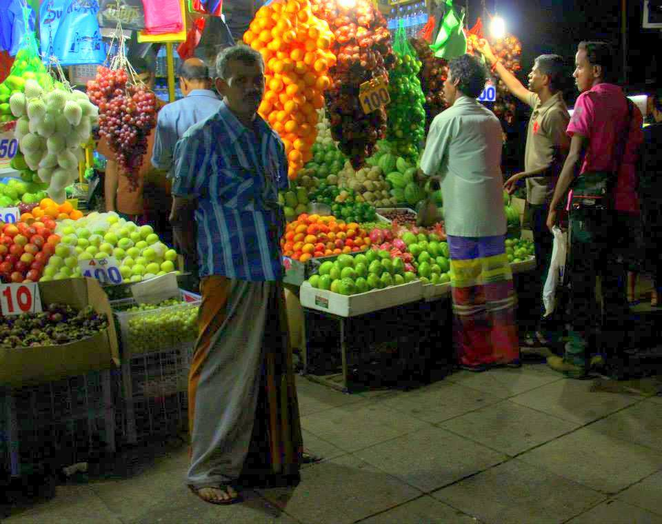 Colpetty or Kollupitiya Market is a Colombo staple