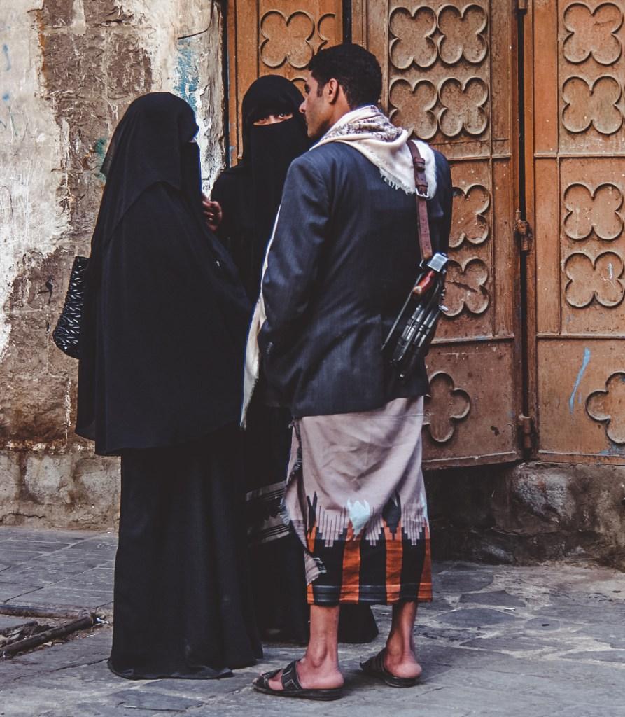 I saw Guns are every where in Sanaa travel
