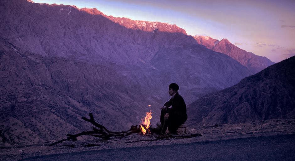 An old shepherd from Kermanshah in Iran