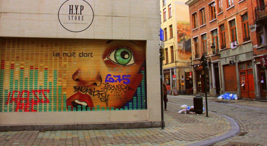 brussels city street art