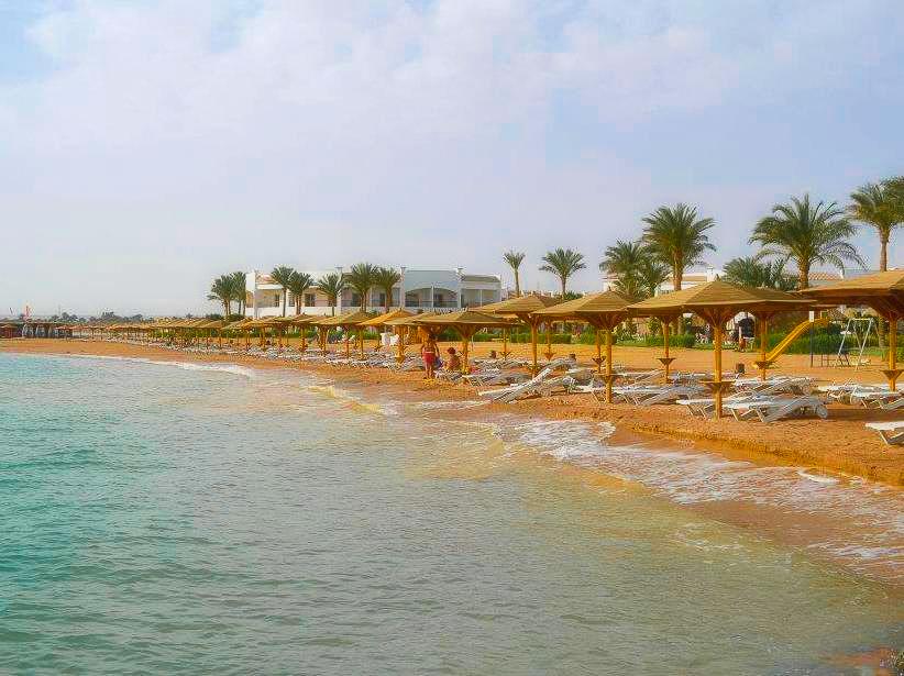 Sun and sea of Hurghada in Egypt