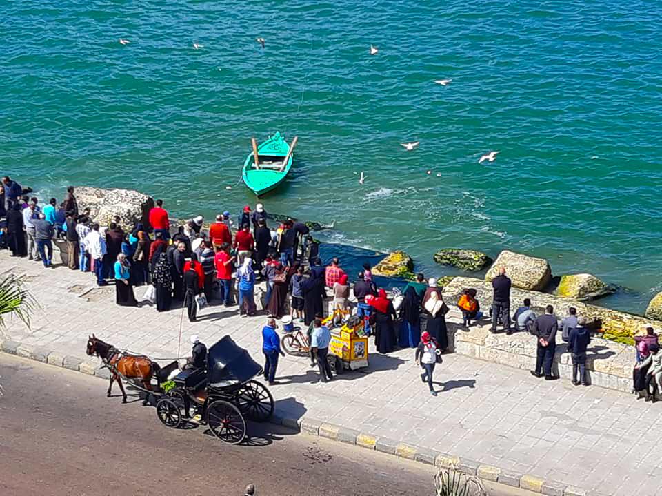 The Corniche in Alexandria
