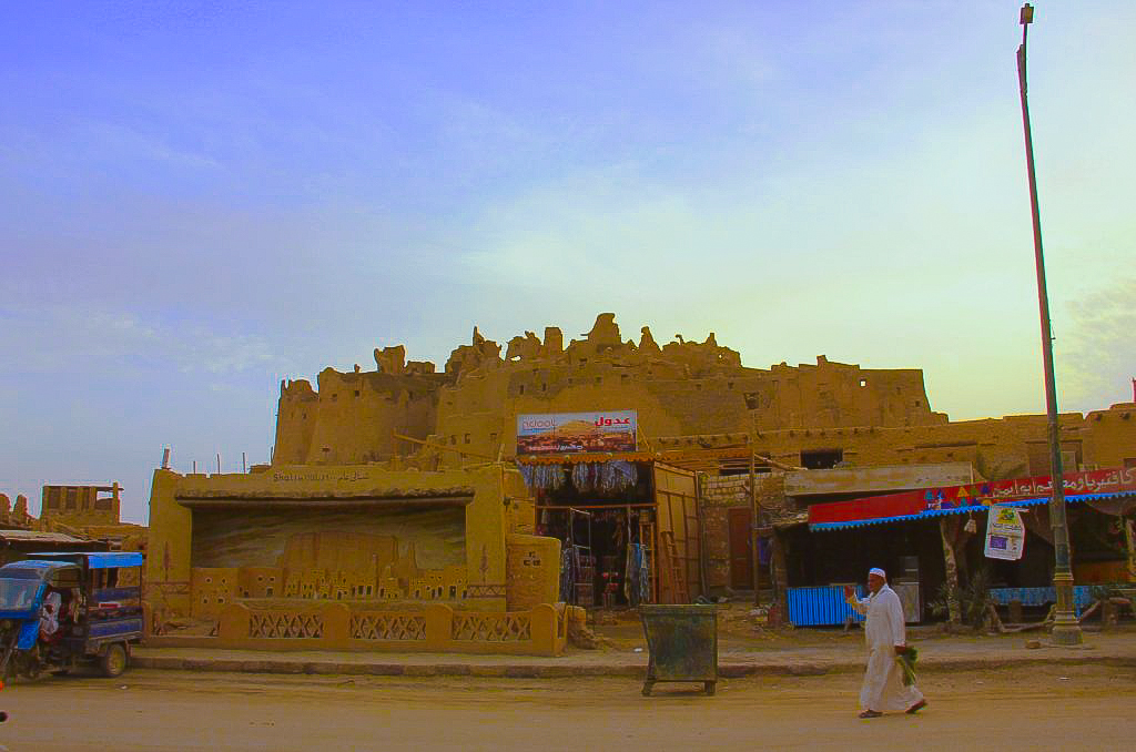 The Shali fortress looms over Siwa town