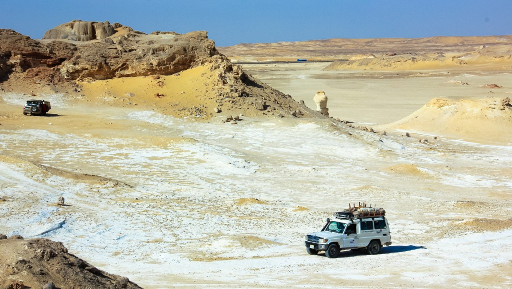 White Desert safaris are popular getaways from Cairo