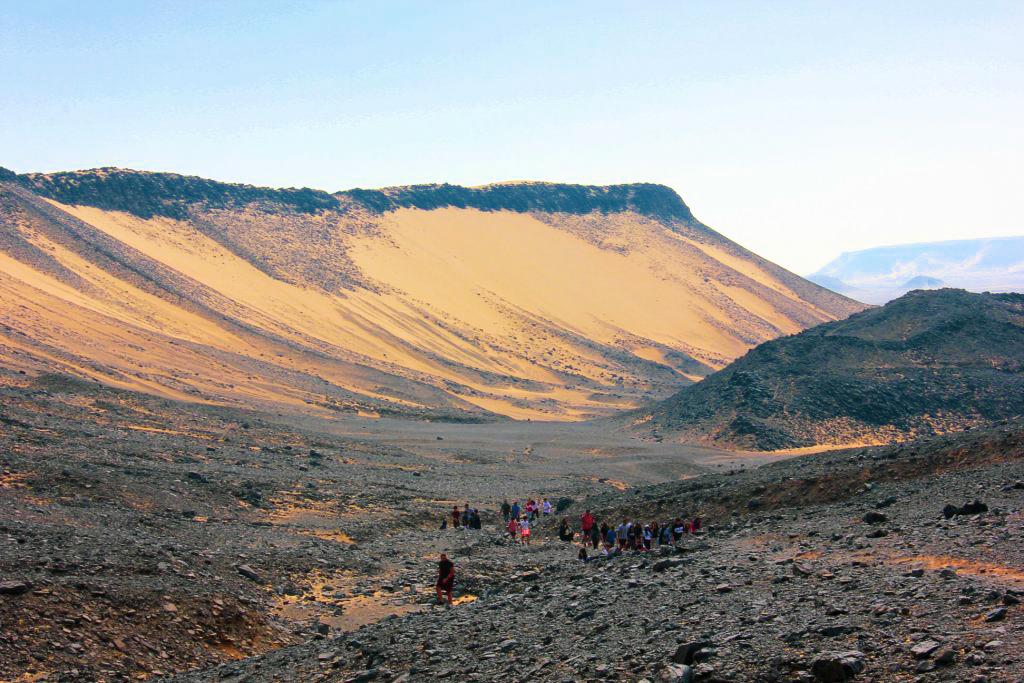 Campers at the Black Desert