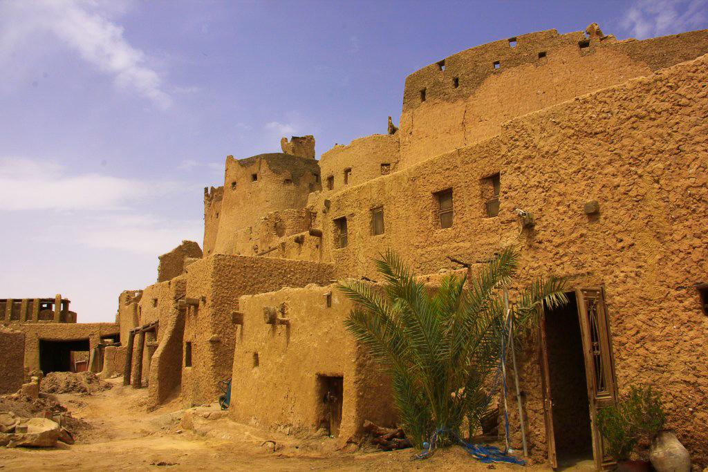 Inside the mud fortress of Shali at Siwa
