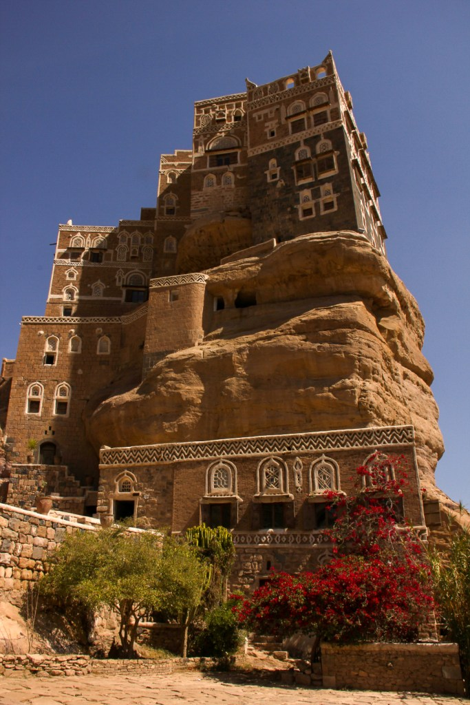 Rock Palace of Wadi Dhahr