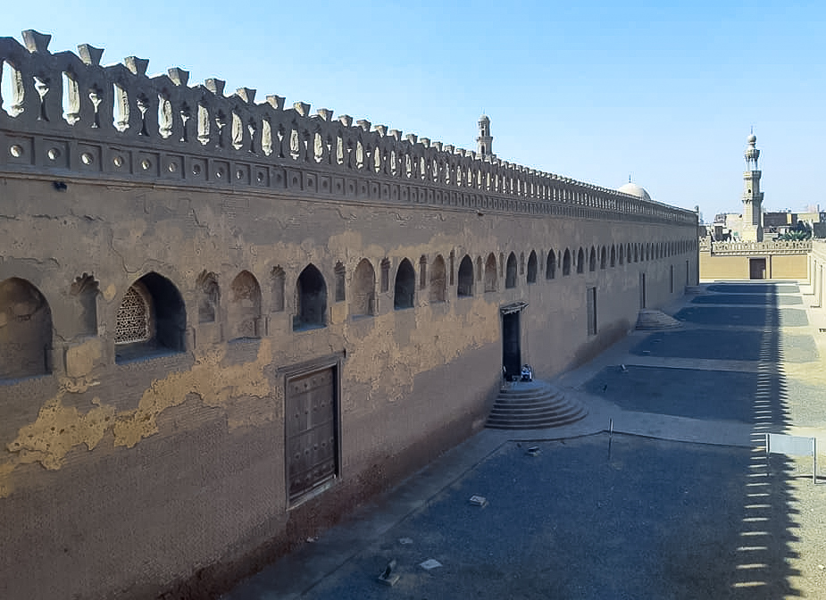 The Gayer Anderson Museum is next to the Ibn Tulun Mosque