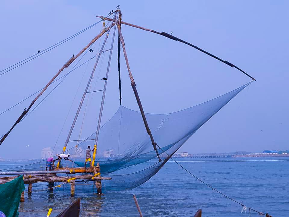 chinese fishing nets in cochin