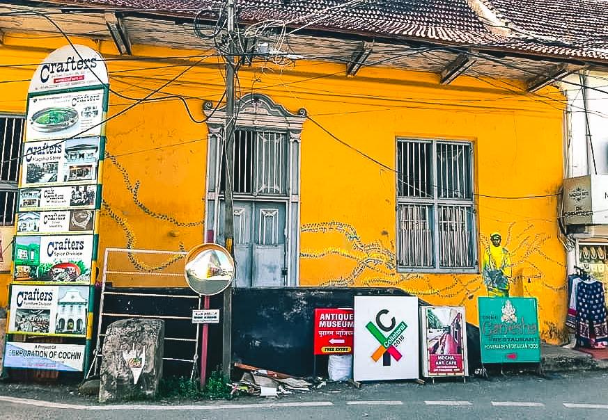 cochin jew town