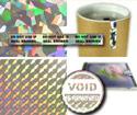 Custom Label Stocks For Hologram Labels