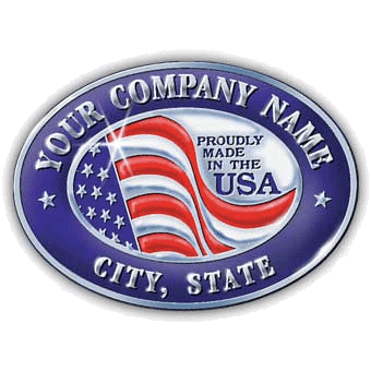 Show Your Patriotic Pride with Made in the USA Stickers & Labels