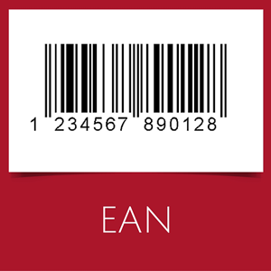Barcode with EAN-13 symbology