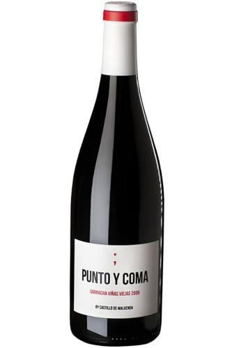 Punta Y Coma creative wine label design