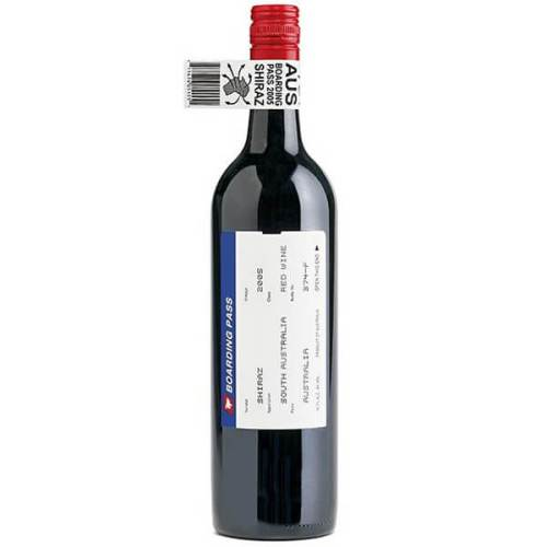 Boarding Pass Wine featuring creative boarding pass wine label