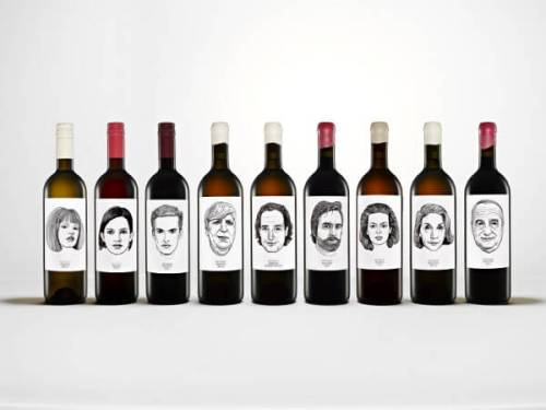 Gut Oggau Portrait Wines creative wine label