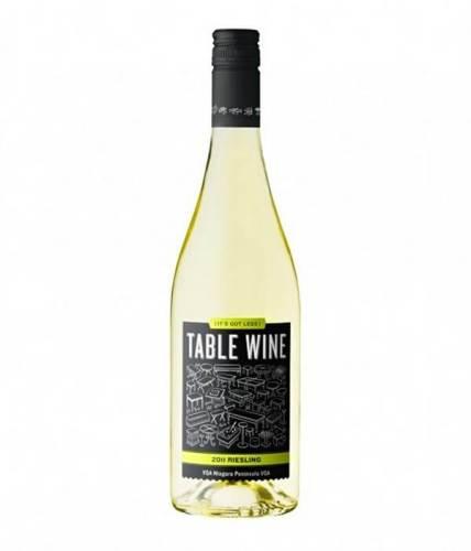 Table Wine creative wine label