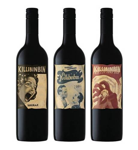 Killibinbin creative wine label