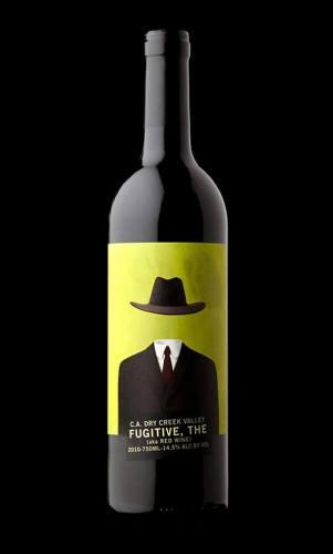 The Fugitive creative wine label