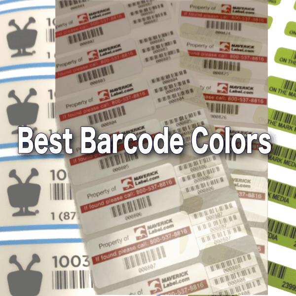 The Best (and Worst) Barcode Color Combinations