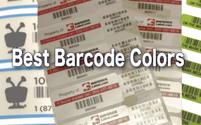 Best Barcode Color Combinations