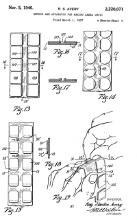 Avery Self-Adhesive Label Patent