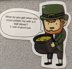 leprechaun rash joke