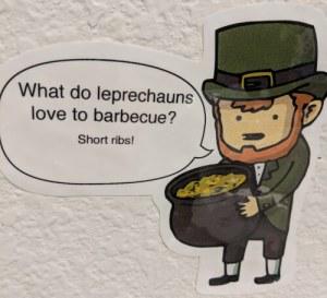 leprechaun BBQ