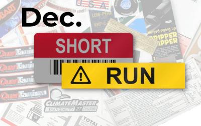 Short Run – December Fun Stuff