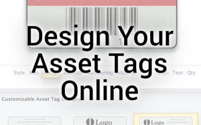 Design Your Asset Tags Online